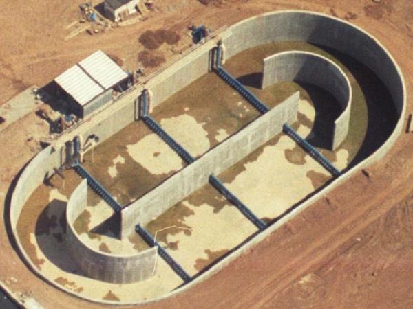 Mương o xy hóa là một trong các công trình xử lý nước thải hiếu khí