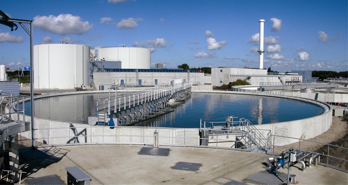 Bể lọc sinh học nhỏ giọt trong xử lý nước thải hiếu khí