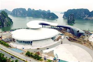 Lắp đặt hệ thống xử lý nước thải tại Dự án Cung quy hoạch, hội chợ và triển lãm tỉnh Quảng Ninh